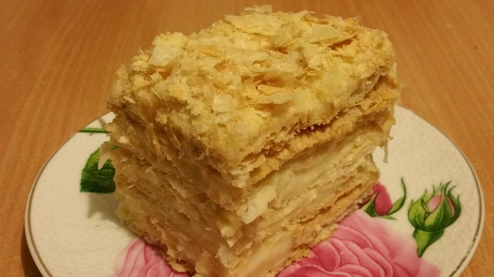 Вкусный крем для наполеона рецепт пошагово