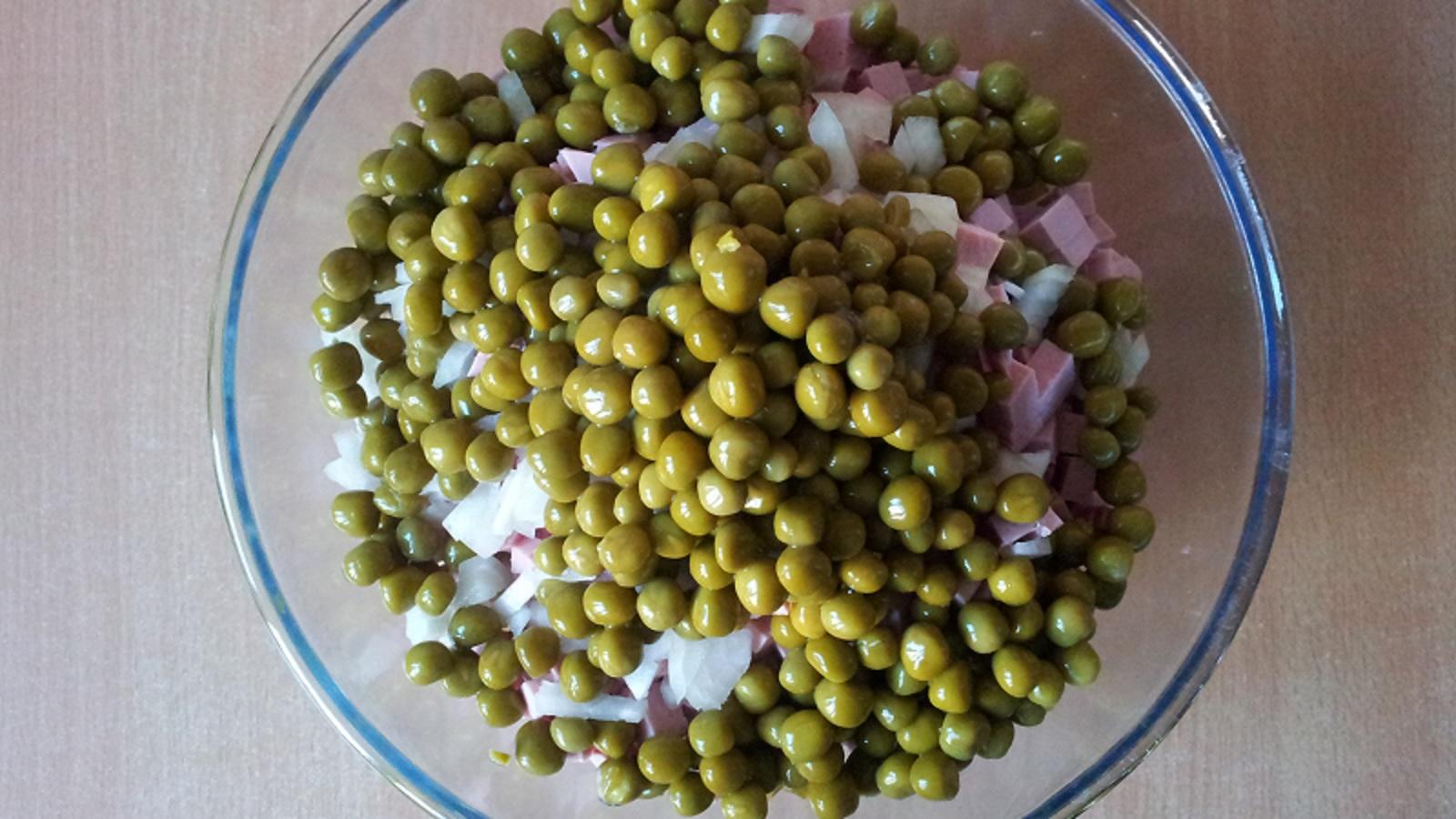 Украшения салата оливье фото