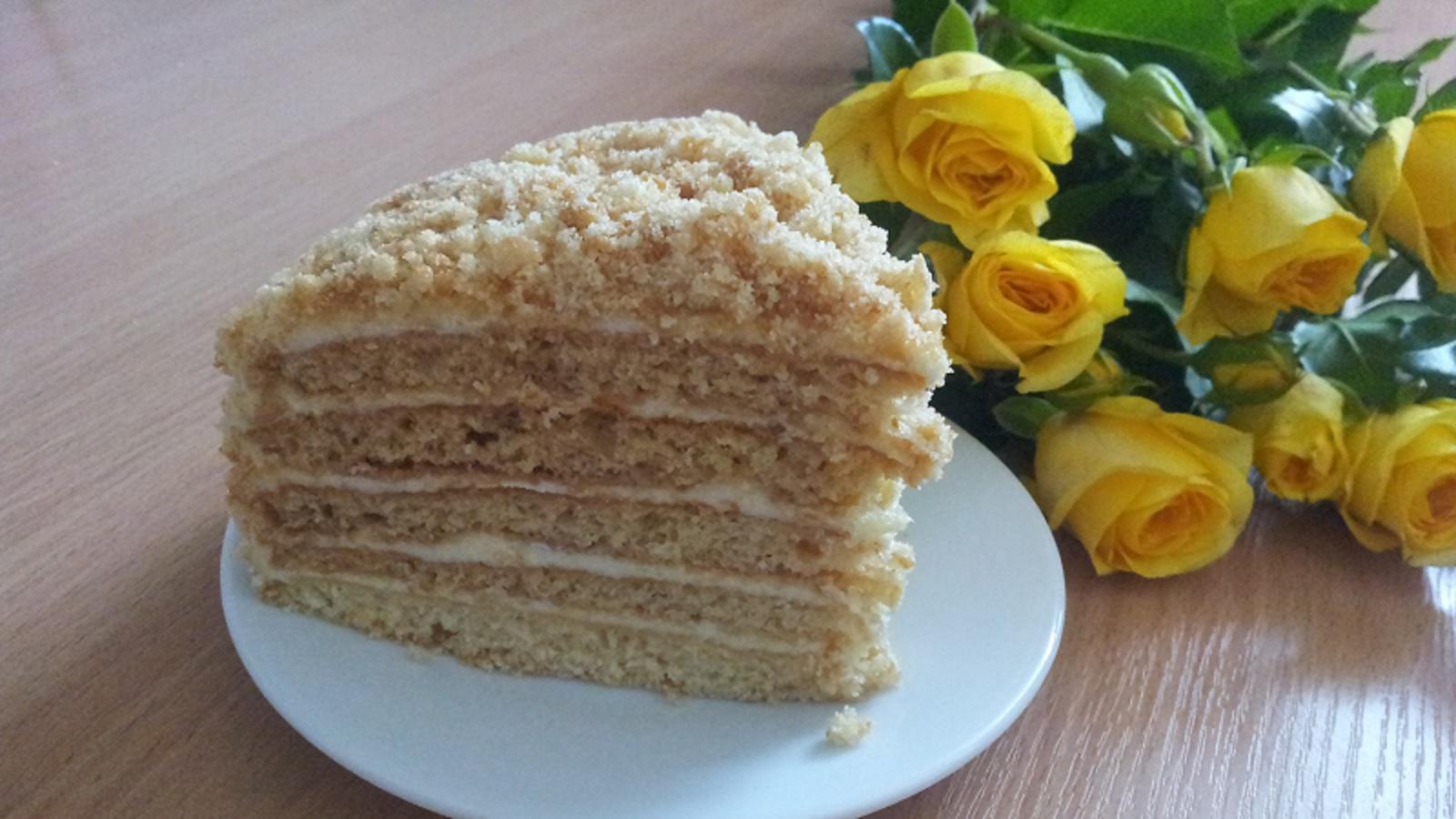 Рецепт вкусного торта рыжик в домашних условиях