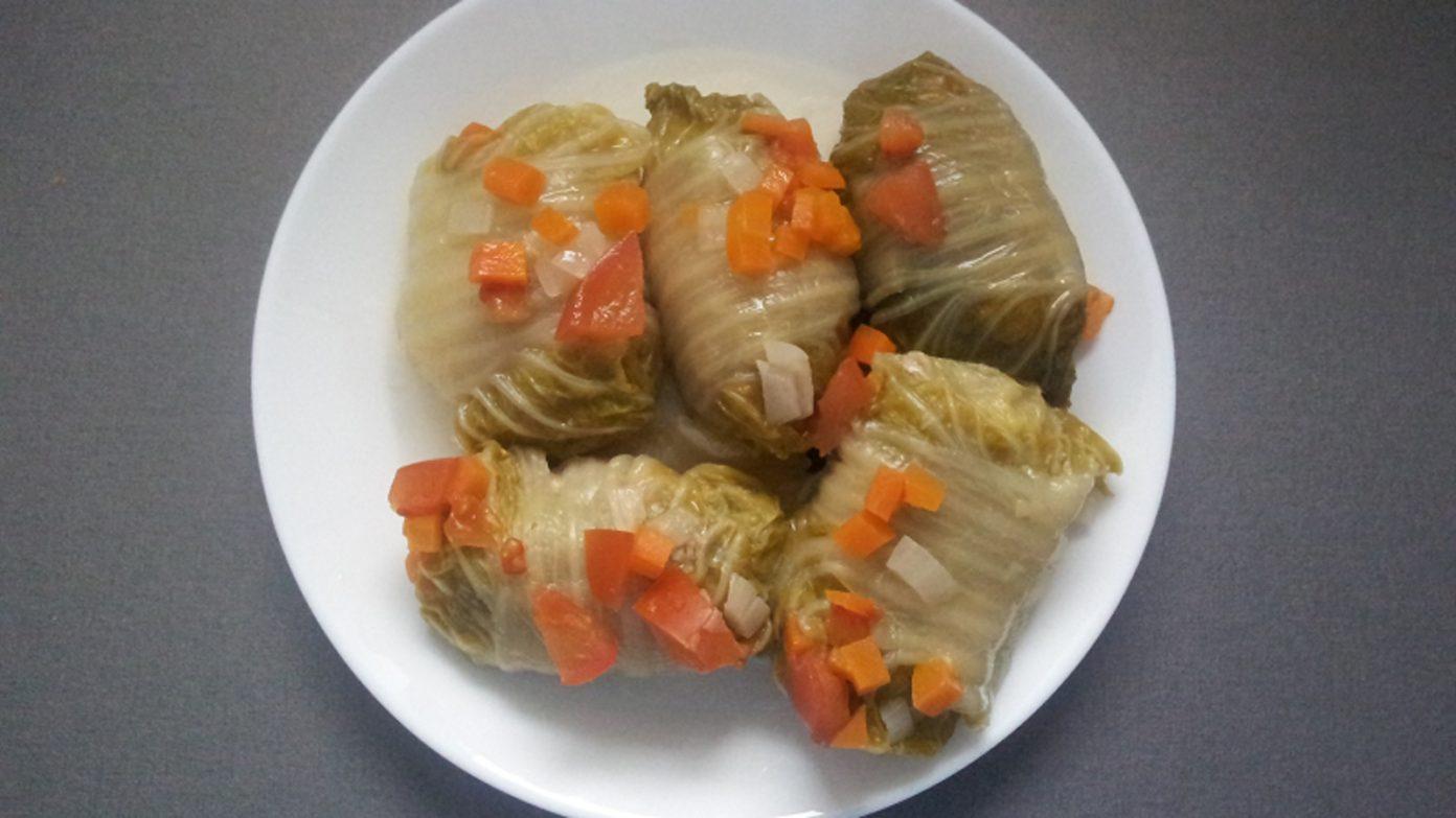 Рецепт голубцов с китайской капустой пошаговое