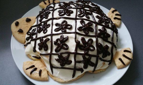 Торт черепаха сметанный рецепт фото